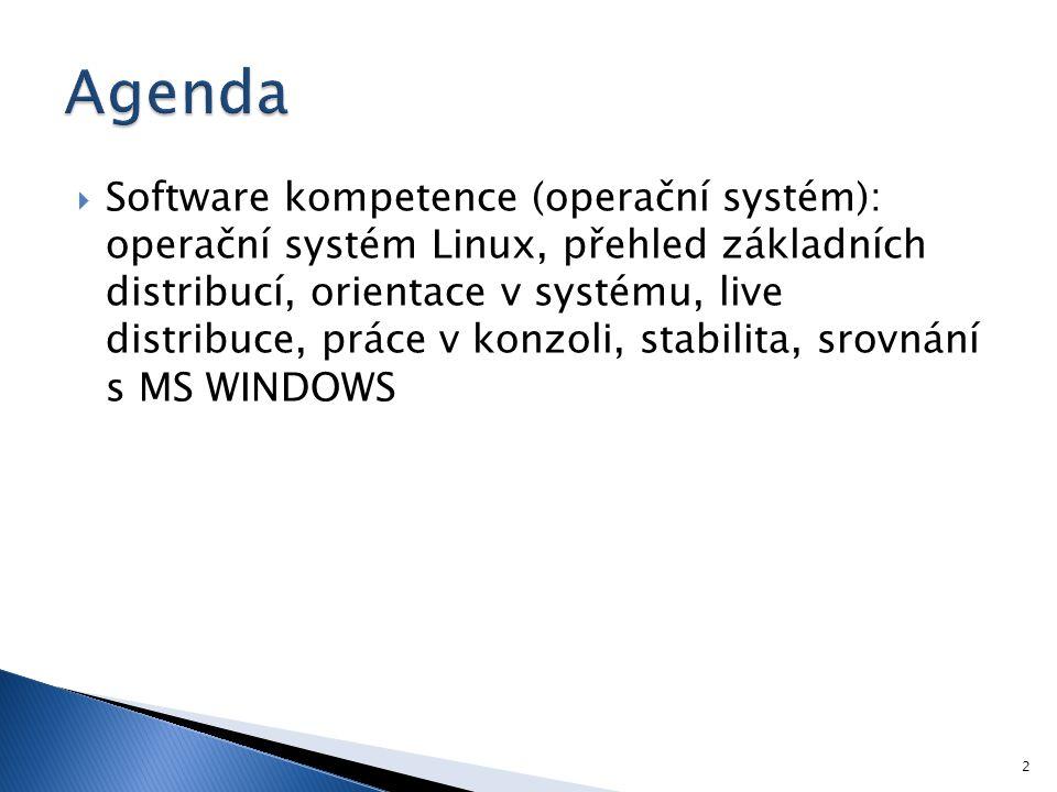 Operační systém GNU/Linux 3