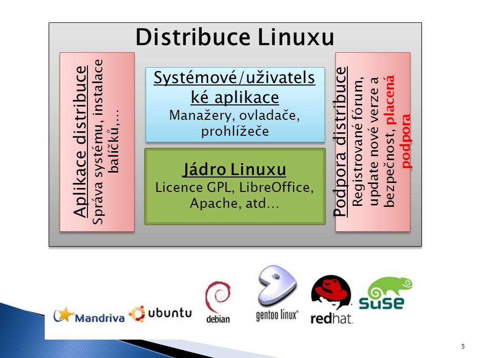  Instalace systému  Live distribuce/záchranný disk ◦ Systém je dočasně uložen v paměti počítač ◦ Live CD/USB 6