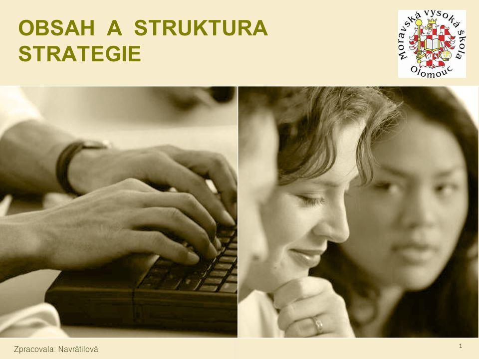 Strategické řízení firmy - Mgr.