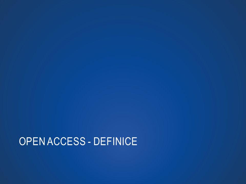 OPEN ACCESS - DEFINICE