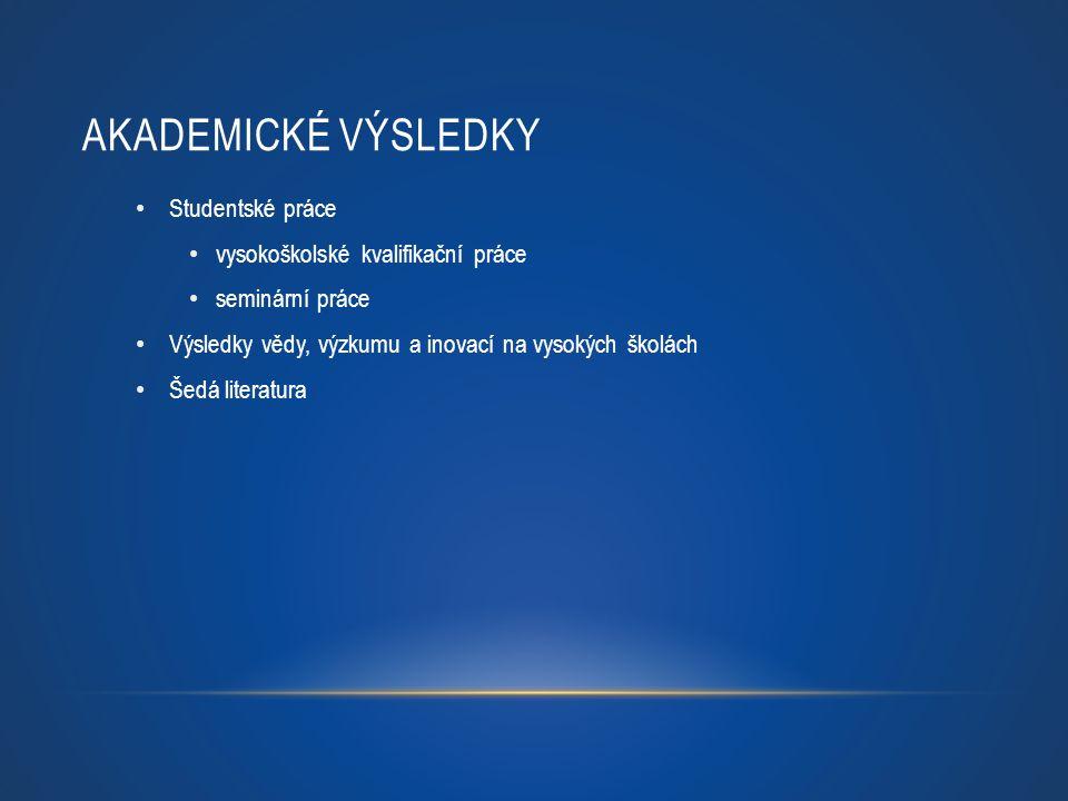 TRVALÉ IDENTIFIKÁTORY - PŘÍKLADY na bázi URI trvalá URL adresa Handle – př.