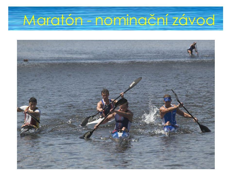 Maratón - nominační závod
