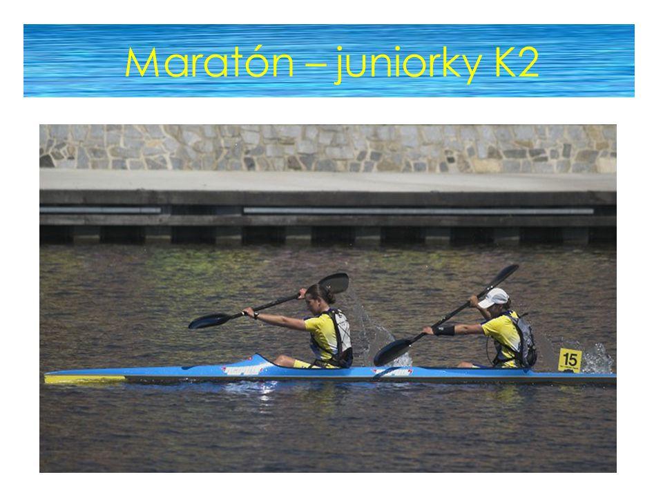 Maratón – juniorky K2