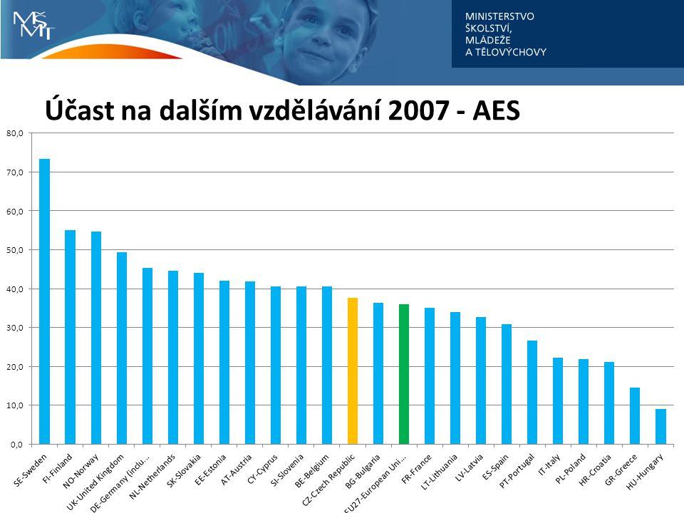 Účast na dalším vzdělávání 2007 - AES
