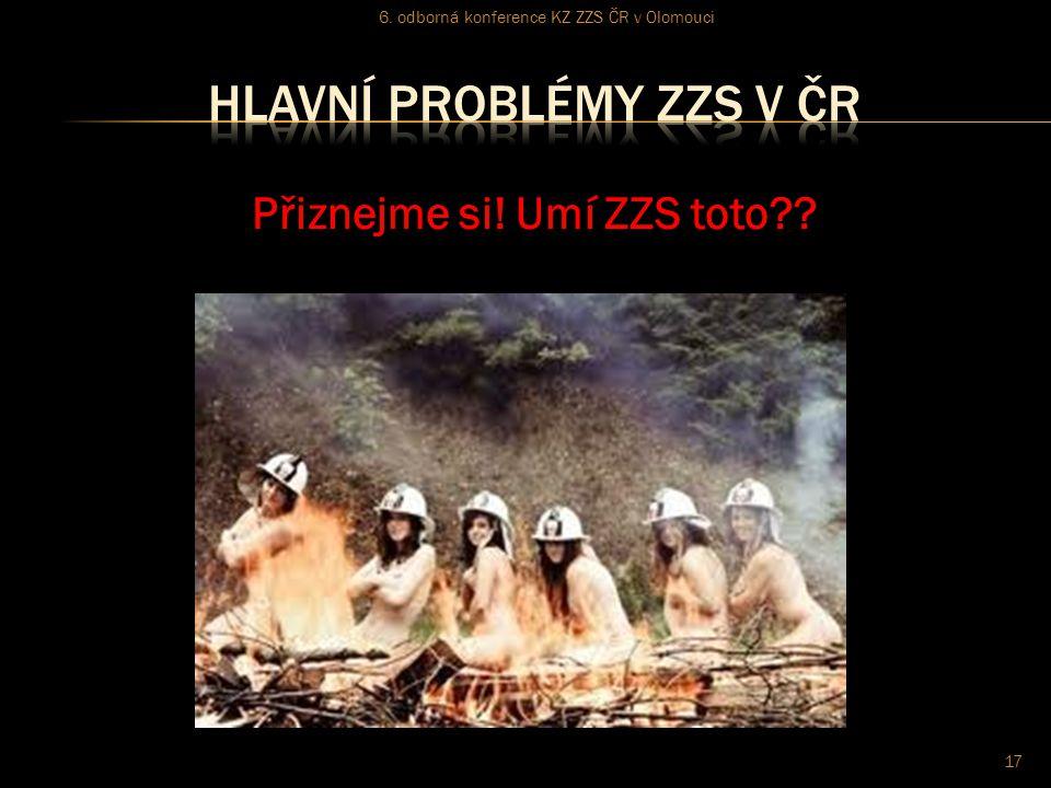 Přiznejme si! Umí ZZS toto?? 6. odborná konference KZ ZZS ČR v Olomouci 17