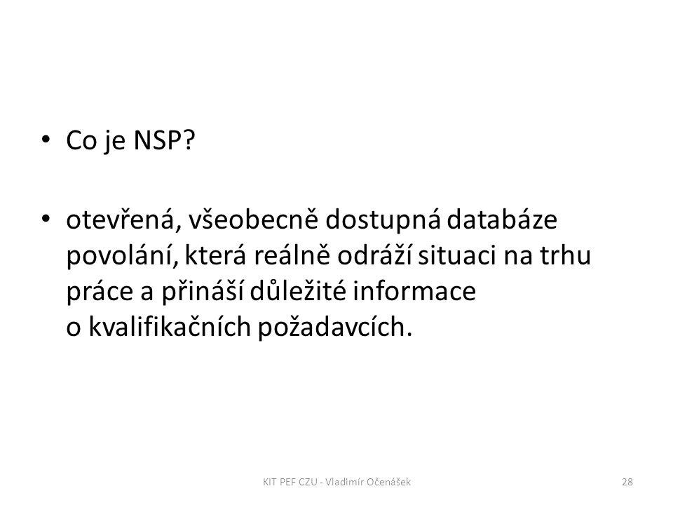 Co je NSP.