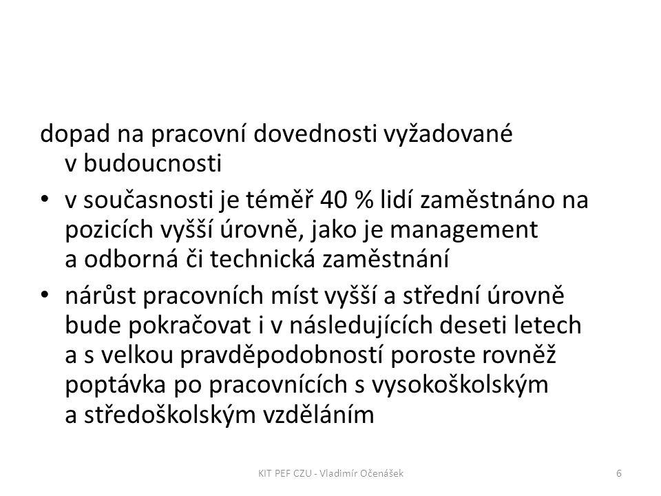 37KIT PEF CZU - Vladimír Očenášek