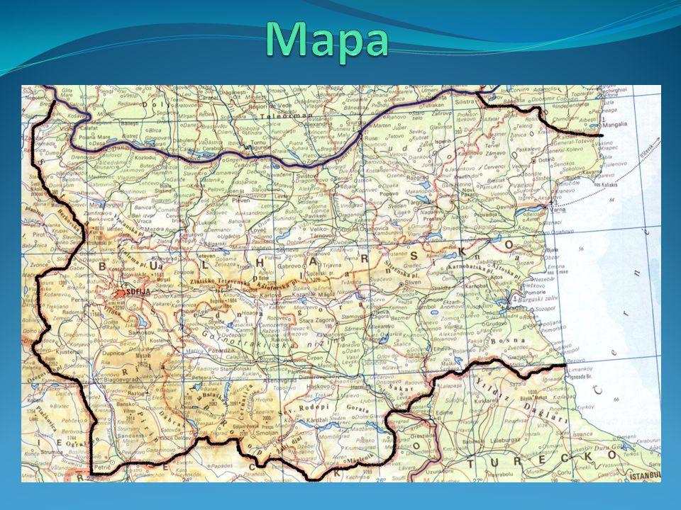  Název CZ: Bulharská republika  Název ENG: Bulgaria  Originální název: Republika Balgarija  Rozloha: 110 910 km 2  Počet obyvatel: 7 520 430  Hlavní město: Sofie (1 116 000 obyv.)  Sousedi: Srbsko, Makedonie, Rumunsko, Řecko, Turecko