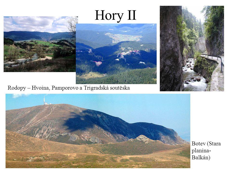 Hory II Rodopy – Hvoina, Pamporovo a Trigradská soutěska Botev (Stara planina- Balkán)