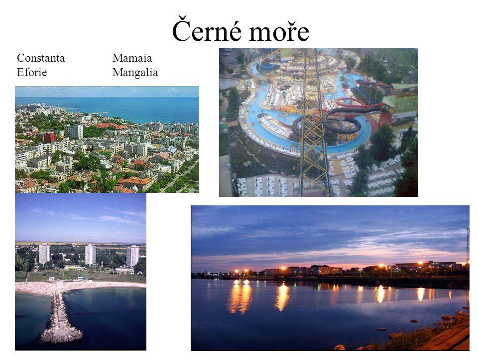 Černé moře ConstantaMamaia EforieMangalia