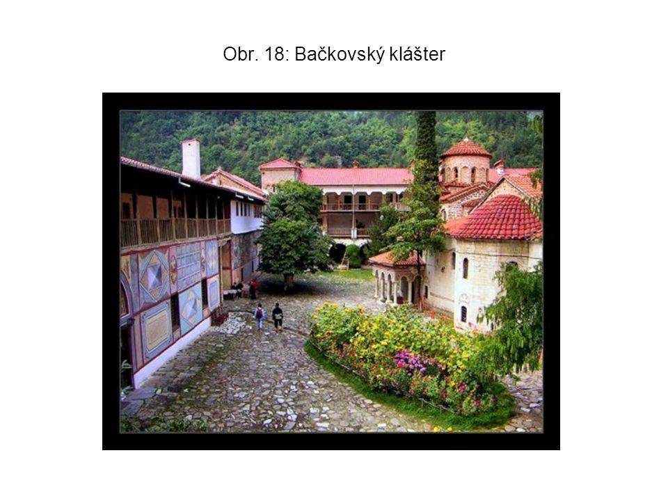 Obr. 18: Bačkovský klášter