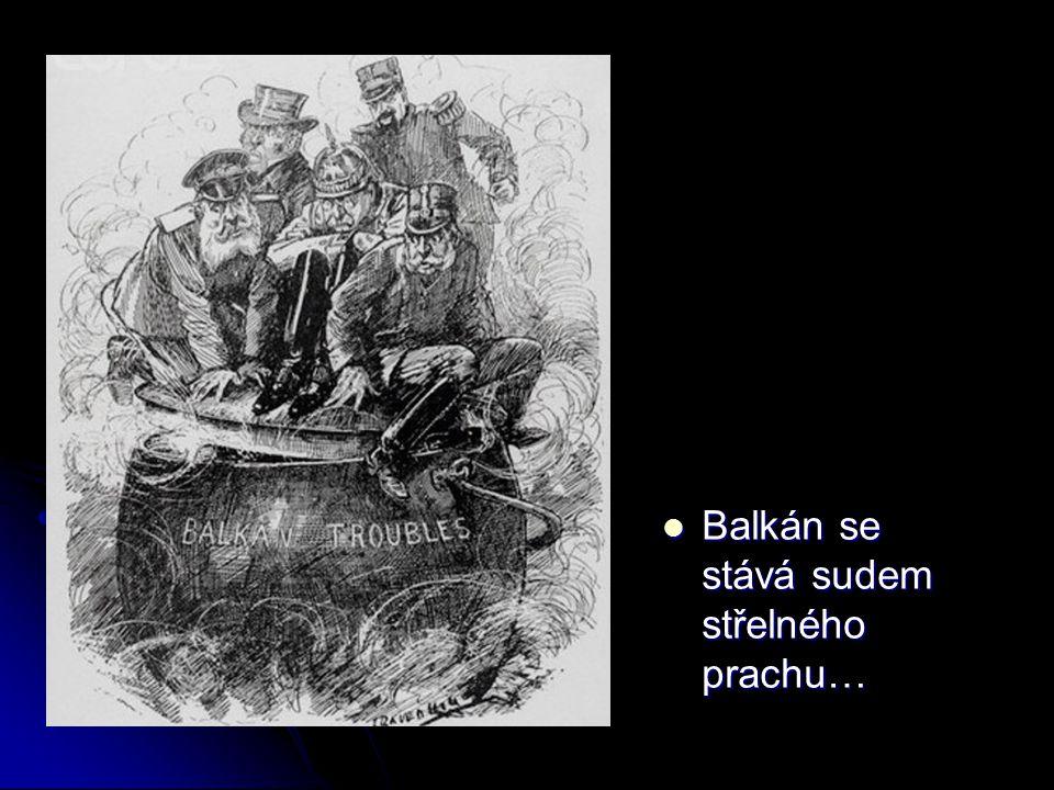 Balkán se stává sudem střelného prachu… Balkán se stává sudem střelného prachu…