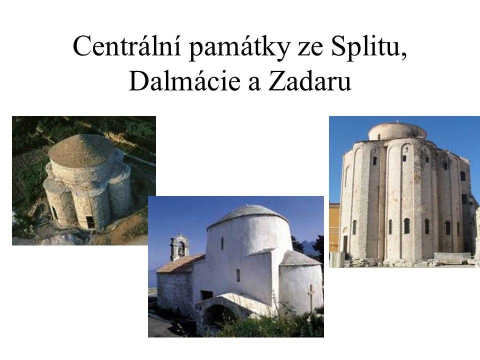 Centrální památky ze Splitu, Dalmácie a Zadaru