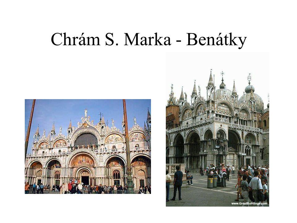 Chrám S. Marka - Benátky