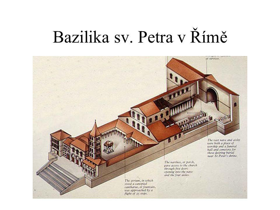 Předkarolínské období Germánské umění pouze dekorativní, neznali monumentální architekturu Architektura navazovala na raně křesťanské typy, baziliky dostaly podobu latinského kříže; sochařská výzdoba ve formě reliéfů Tempietto langobardo v Cividale (Itálie) Baptistéria v Poitiers a Aix