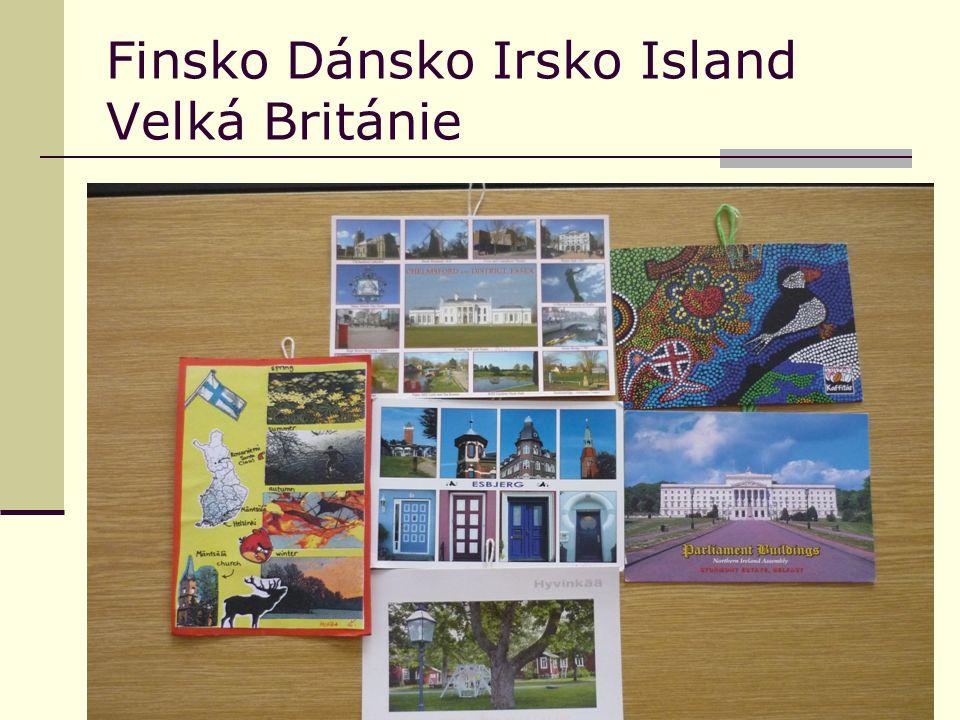 Finsko Dánsko Irsko Island Velká Británie