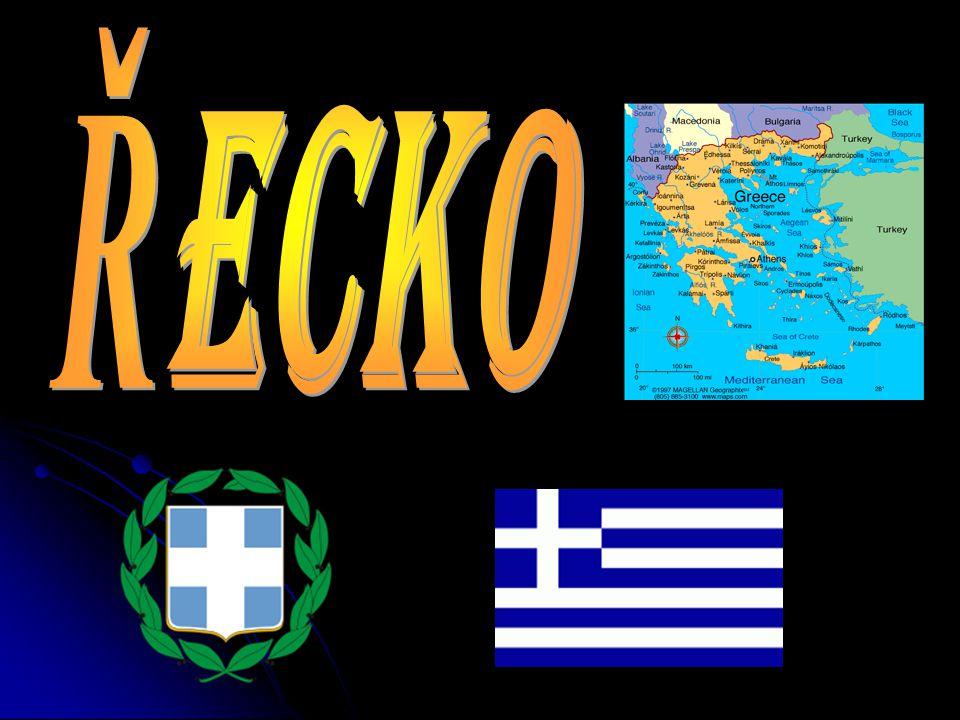 HLAVNÍ ÚDAJE Hlavní město:Atény Hlavní město:Atény Rozloha:131 940 km Rozloha:131 940 km Nejvyšší bod:Olymp (2 917 m.n.m) Nejvyšší bod:Olymp (2 917 m.n.m) Počet obyvatel:11 018 000 Počet obyvatel:11 018 000 Jazyk:řečtina Jazyk:řečtina Náboženství:pravoslaví,řeckokatolické Náboženství:pravoslaví,řeckokatolické Státní zřízení:republika Státní zřízení:republika Měna:euro Měna:euro