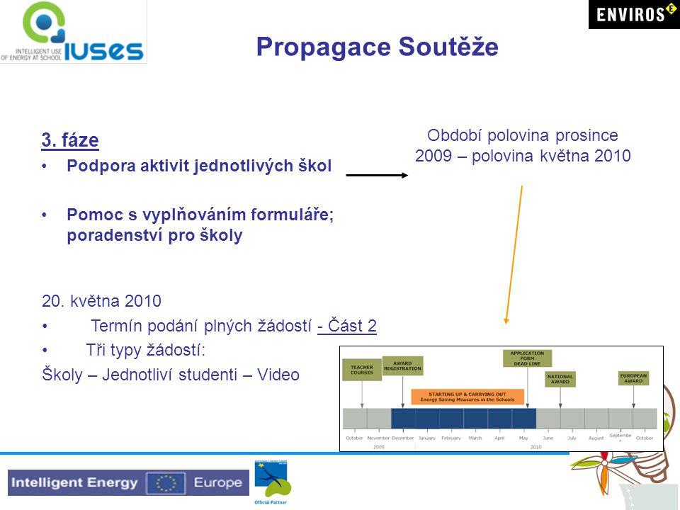 Propagace Soutěže 3.