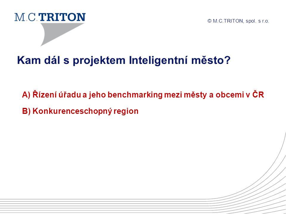© M.C.TRITON, spol.s r.o. Kam dál s projektem Inteligentní město.
