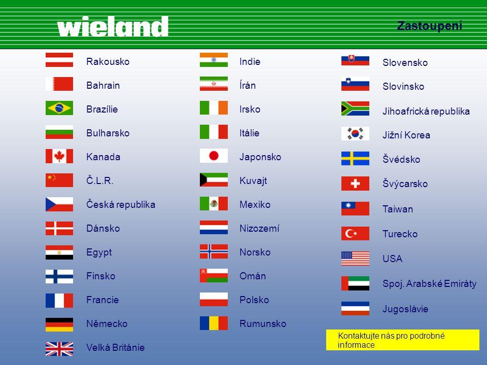 Slovensko Slovinsko Jihoafrická republika Jižní Korea Švédsko Švýcarsko Taiwan Turecko USA Spoj.