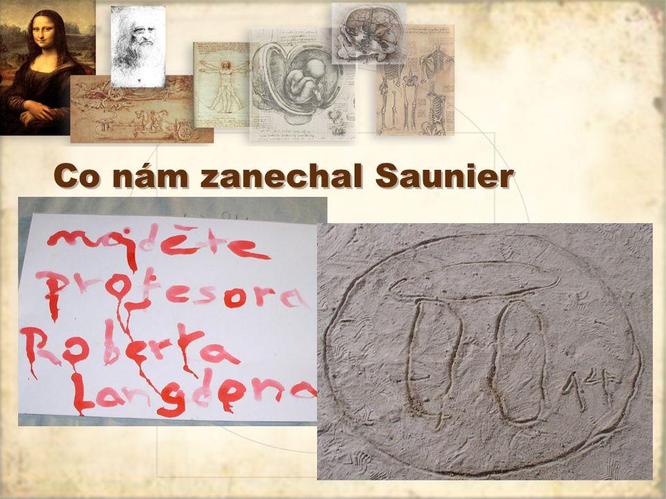 Co nám zanechal Saunier