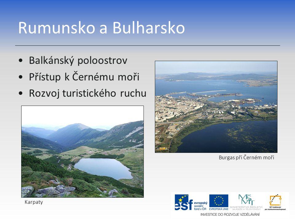 Rumunsko – základní charakteristika Rumunsko Hl.město Bukurešť 22 mil.