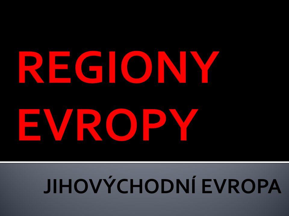  státy: ▪ Rumunsko (Bukurešť) ▪ Bulharsko (Sofie) ▪ Albánie (Tirana) ▪ bývalé státy Jugoslávie ▪ Chorvatsko (Záhřeb) ▪ Slovinsko (Lublaň) ▪ Makedonie (Skopje) ▪ Srbsko (Bělehrad) ▪ Černá Hora (Podgorica) ▪ Bosna a Hercegovina (Sarajevo)