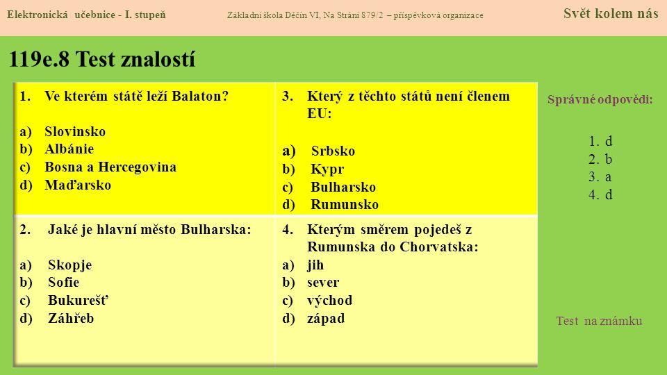 119e.9 Použité zdroje, citace Elektronická učebnice - I.