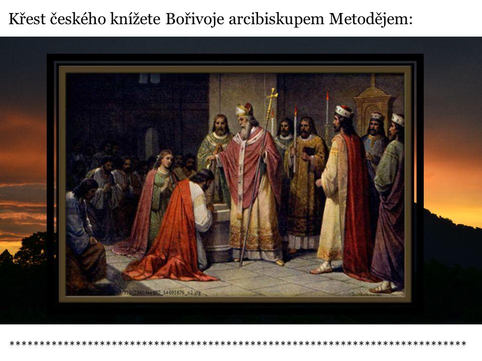 Příchod franského mnicha Wichtinga:  po smíru mezi Ludvíkem Němcem a Svatoplukem přichází na Velkou Moravu bavorští duchovní v čele s mnichem Wichtingem  Wichting očerňuje Metoděje, ten ztrácí podporu Svatopluka  Zasáhne však papež a Wichting musí být Metodějovi poslušen  Wichting s intrikami pokračuje --- > nový papež ho podpoří V kritické chvíli r.