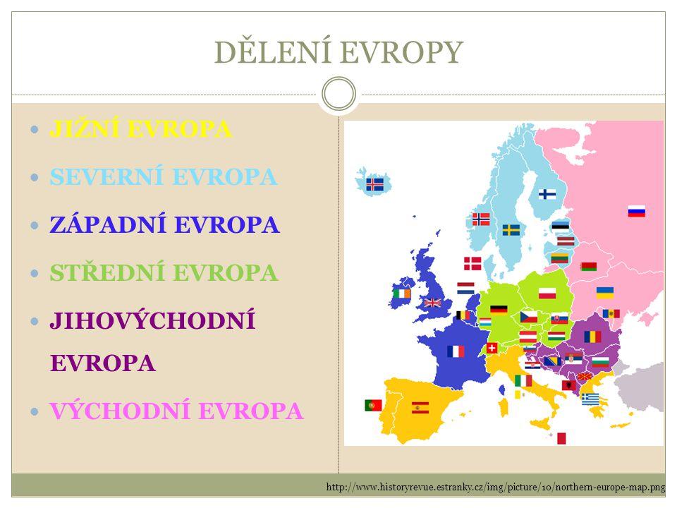 JIŽNÍ EVROPA Itálie – Řím Portugalsko – Lisabon Řecko – Atény Španělsko – Madrid Vatikán – Vatikán Monako – Monaco Andorra – Andorra la Vella Malta – Valletta San Marino – San Marino Gibraltar – zámořské území VB