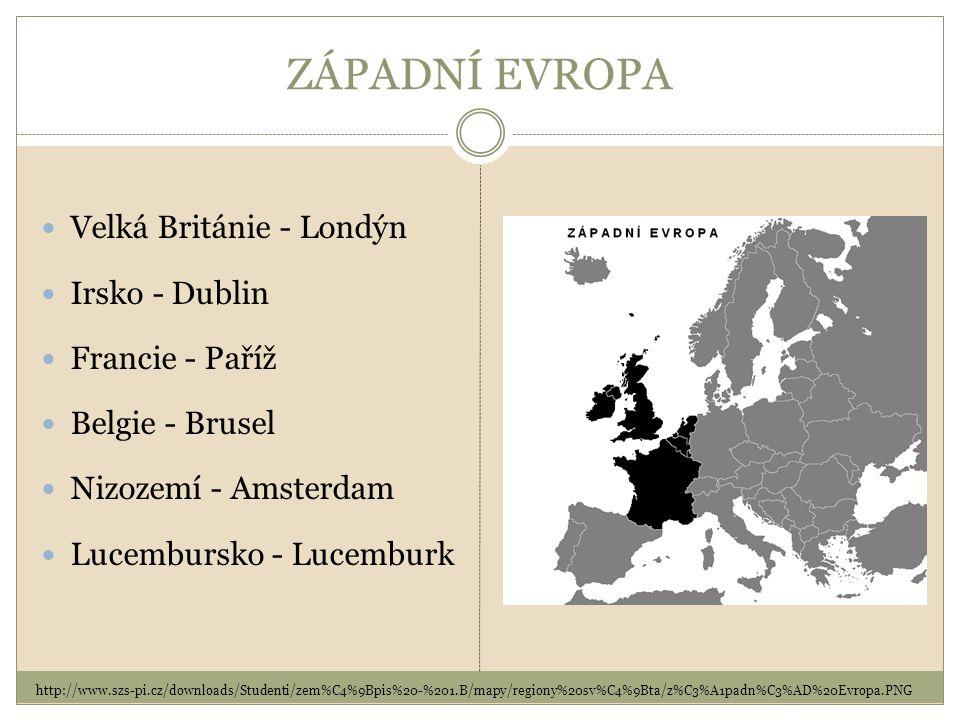 STŘEDNÍ EVROPA Německo – Berlín Polsko - Varšava Slovensko - Bratislava Maďarsko – Budapešť (Česká republika - Praha) Alpské země Rakousko - Vídeň Švýcarsko - Bern Lichtenštejnsko - Vaduz