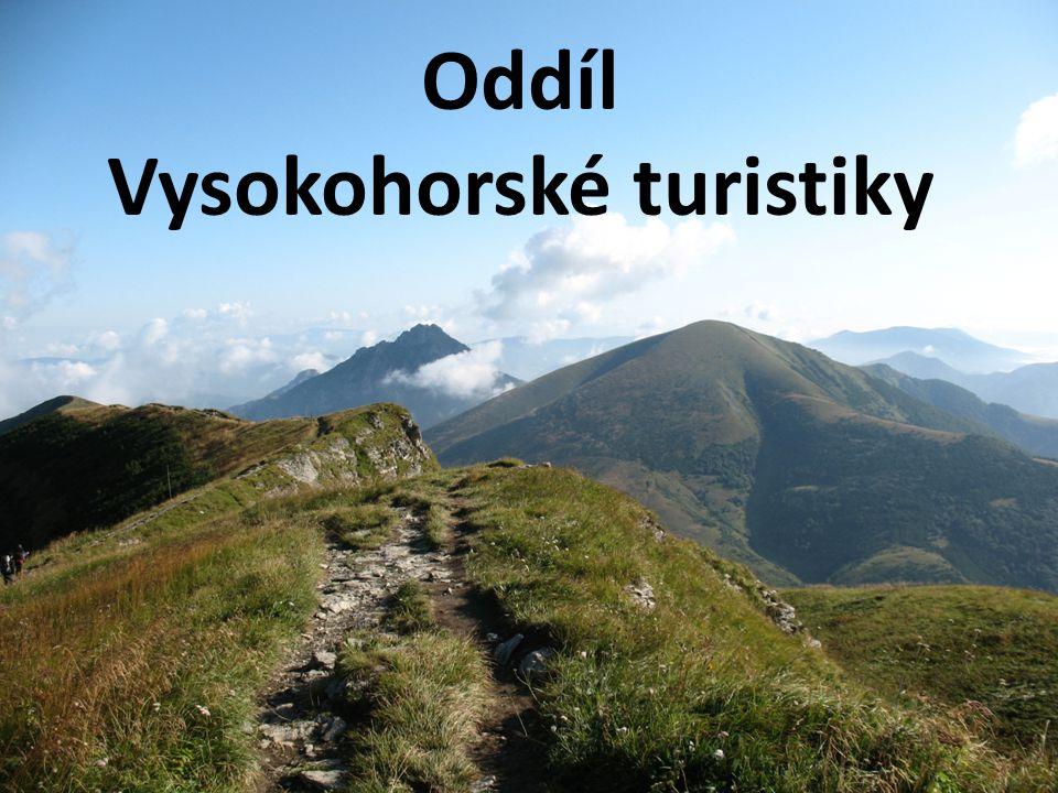 Oddíl Vysokohorské turistiky