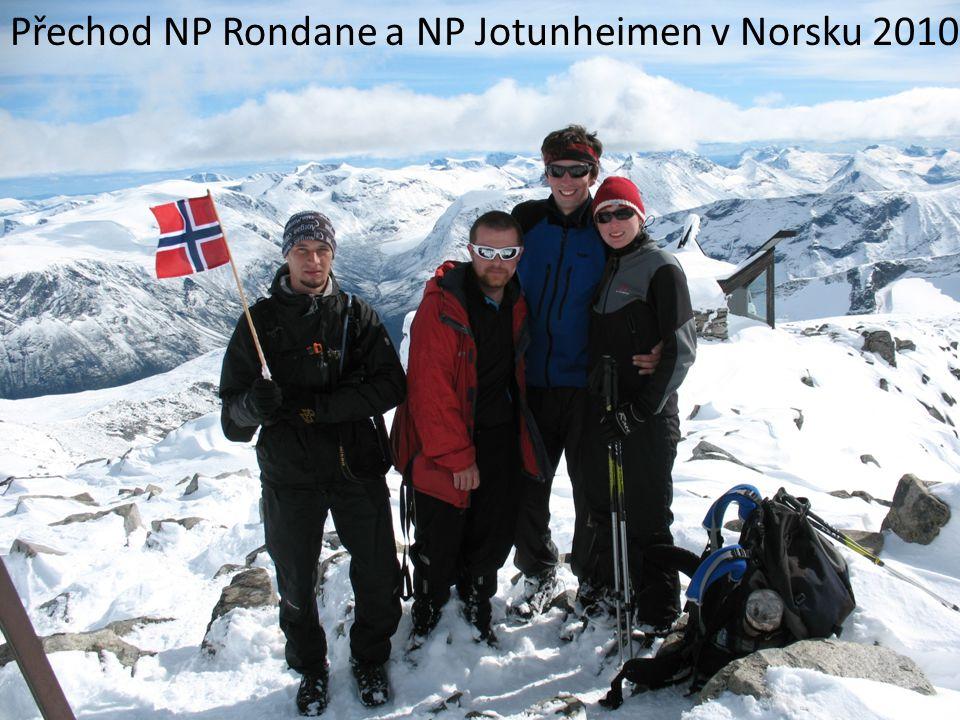 Přechod NP Rondane a NP Jotunheimen v Norsku 2010
