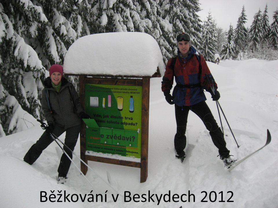 Běžkování v Beskydech 2012