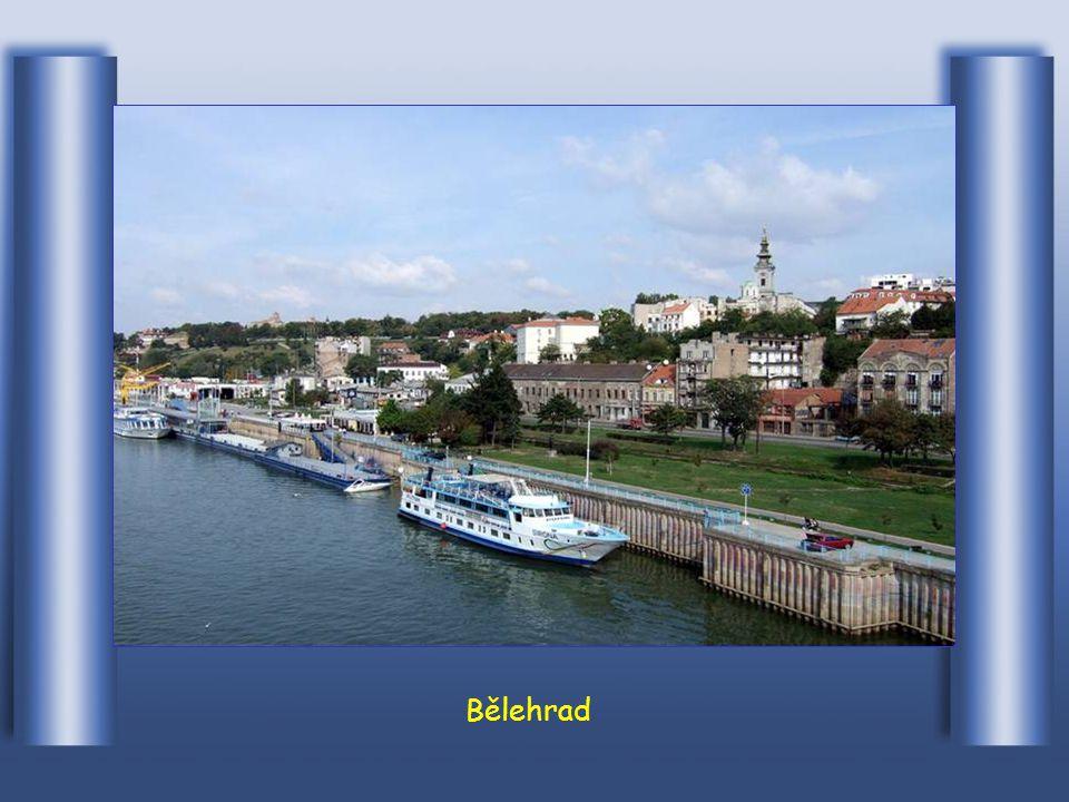 V Bělehradě metropoli Srbska ústí do Dunaje Sava