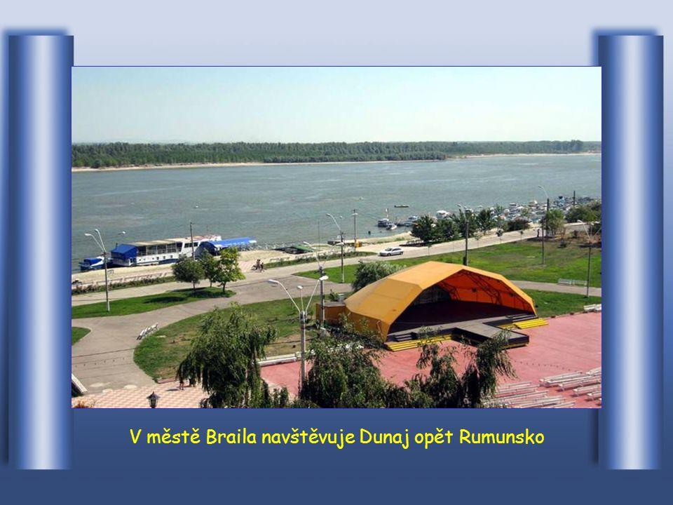 Teče podél bulharského města Ruse