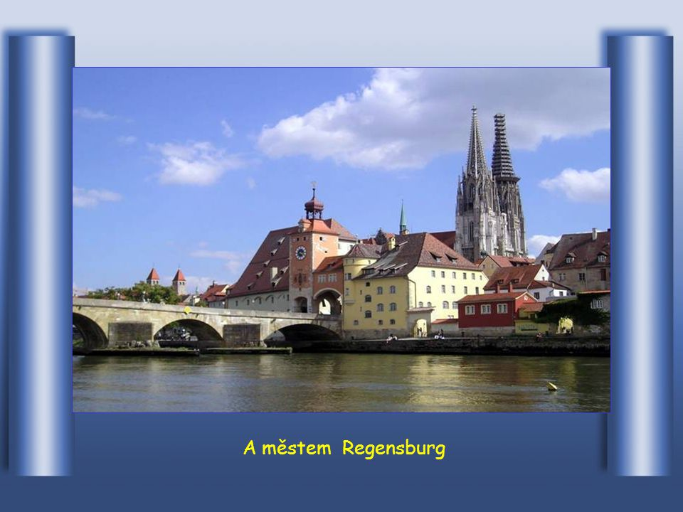 Zde protéká městem Ingolstadt