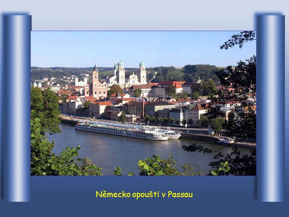 A městem Regensburg