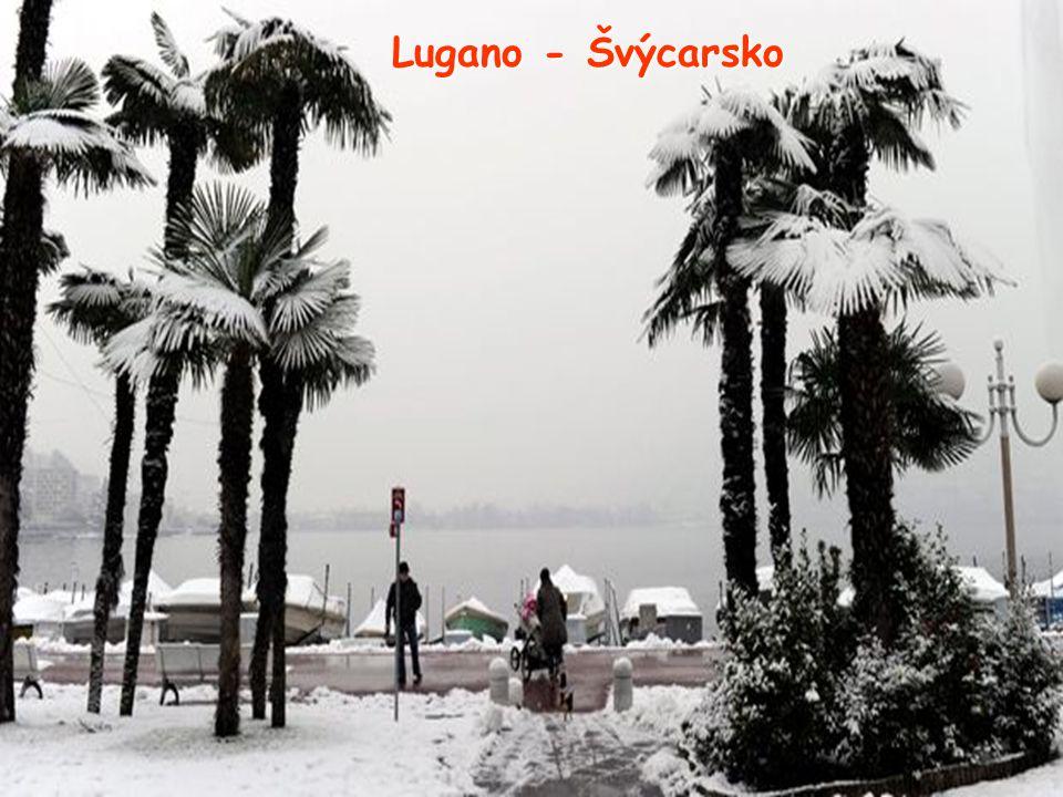Lugano - Švýcarsko