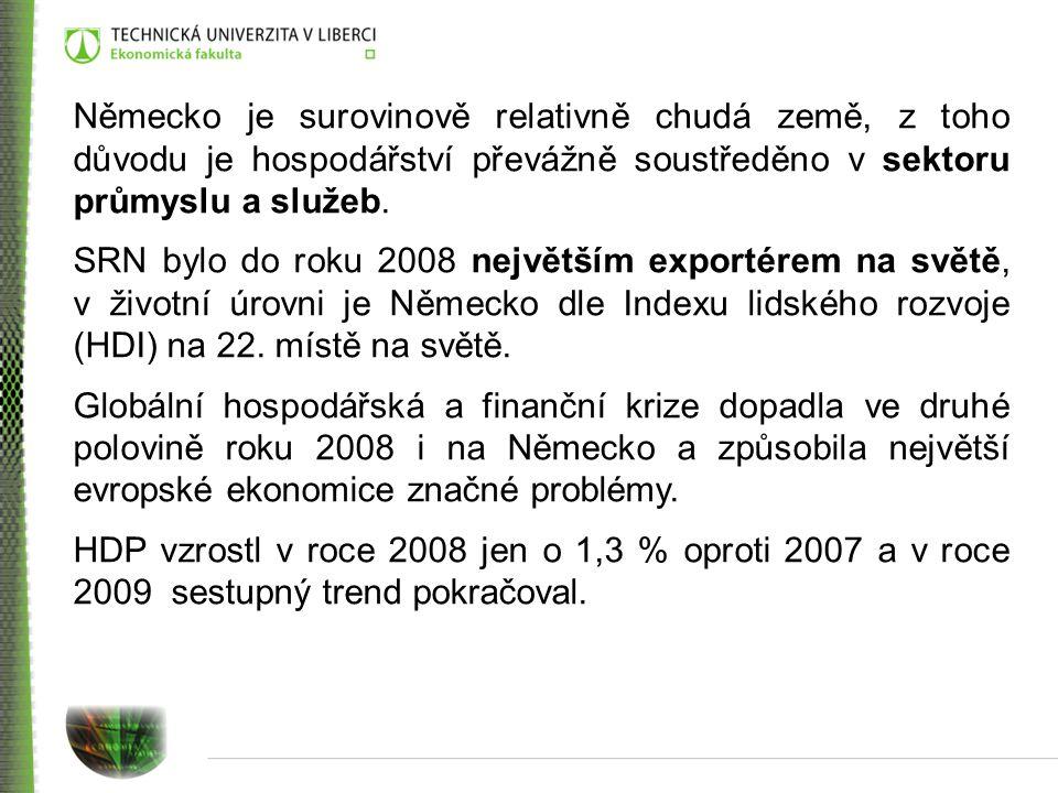 V českém vývozu převažují stroje a dopravní prostředky, následují tržní výrobky a na třetím místě průmyslové spotřební zboží.