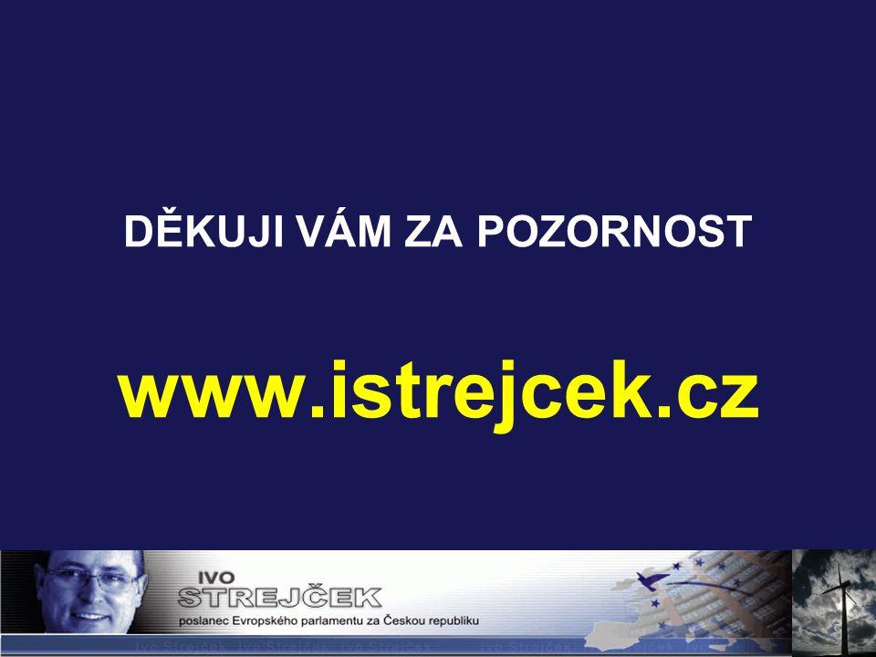 DĚKUJI VÁM ZA POZORNOST www.istrejcek.cz
