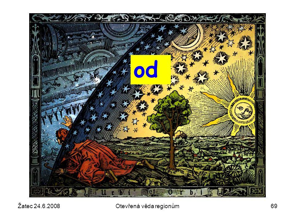 Žatec 24.6.2008Otevřená věda regionům69 od