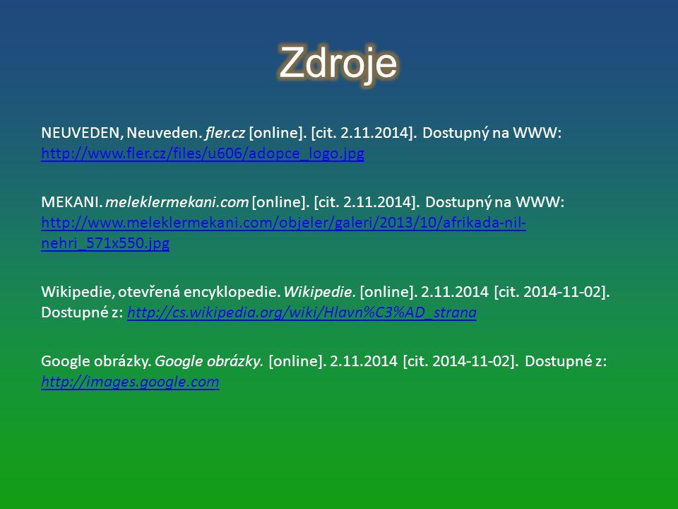 NEUVEDEN, Neuveden. fler.cz [online]. [cit. 2.11.2014]. Dostupný na WWW: http://www.fler.cz/files/u606/adopce_logo.jpg http://www.fler.cz/files/u606/a