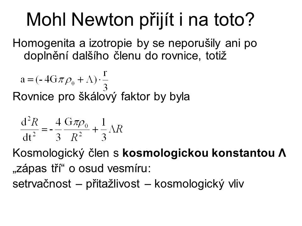 Mohl Newton přijít i na toto.