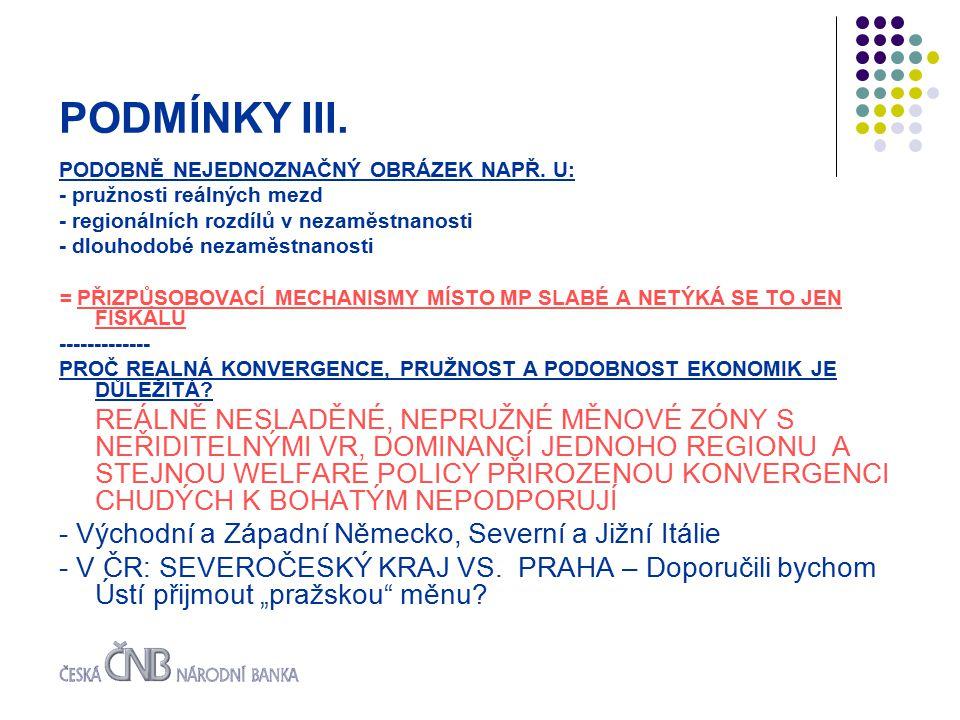 PODMÍNKY III. PODOBNĚ NEJEDNOZNAČNÝ OBRÁZEK NAPŘ.