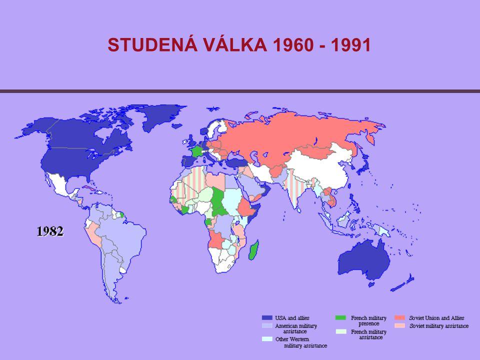 STUDENÁ VÁLKA 1960 - 1991
