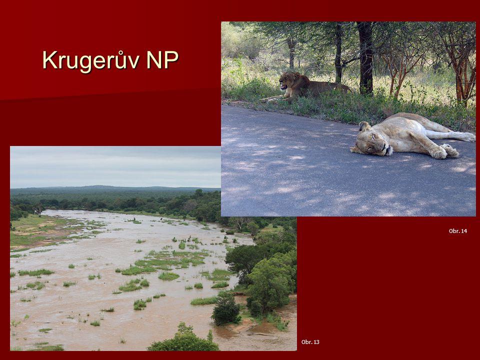 Krugerův NP Obr. 13 Obr. 14