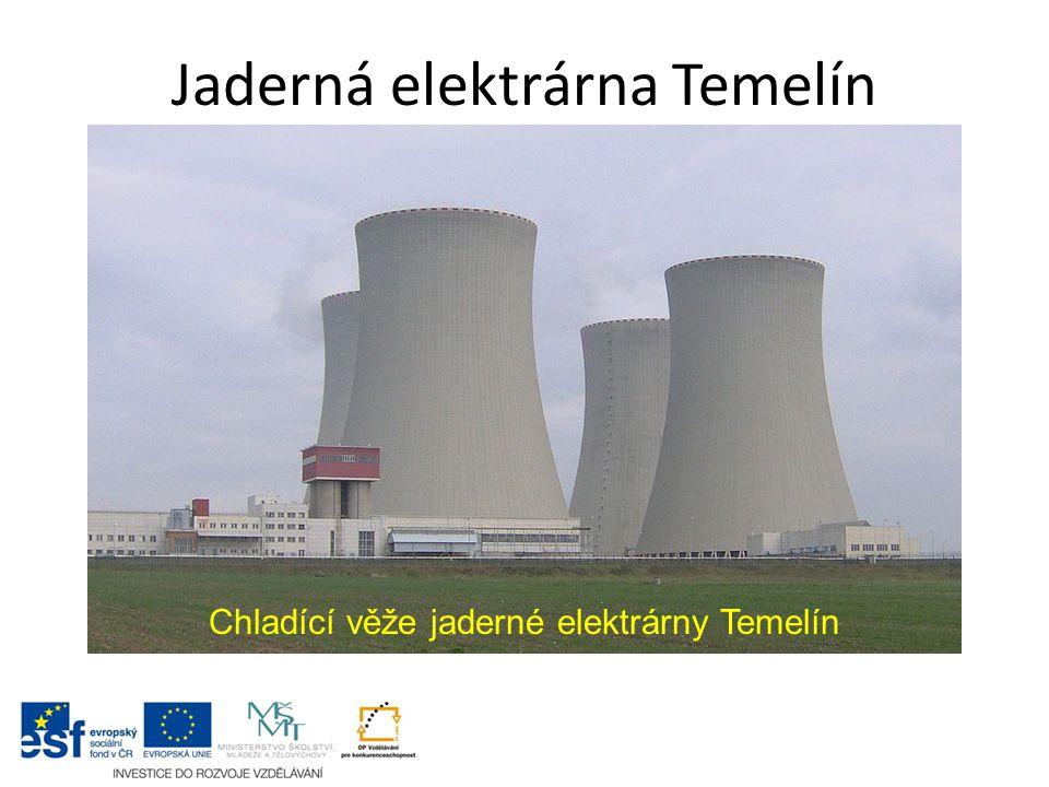 Jaderná elektrárna Temelín Chladící věže jaderné elektrárny Temelín