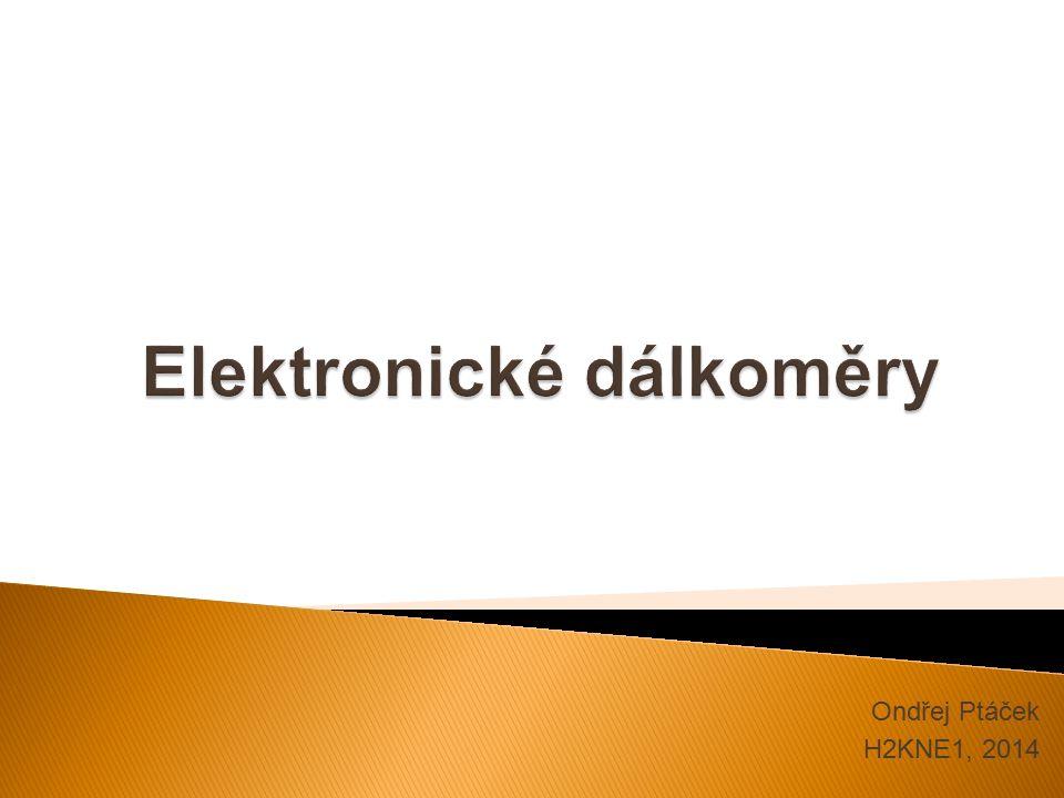  Elektronické měření délek využívá elektromagnetického vlnění.