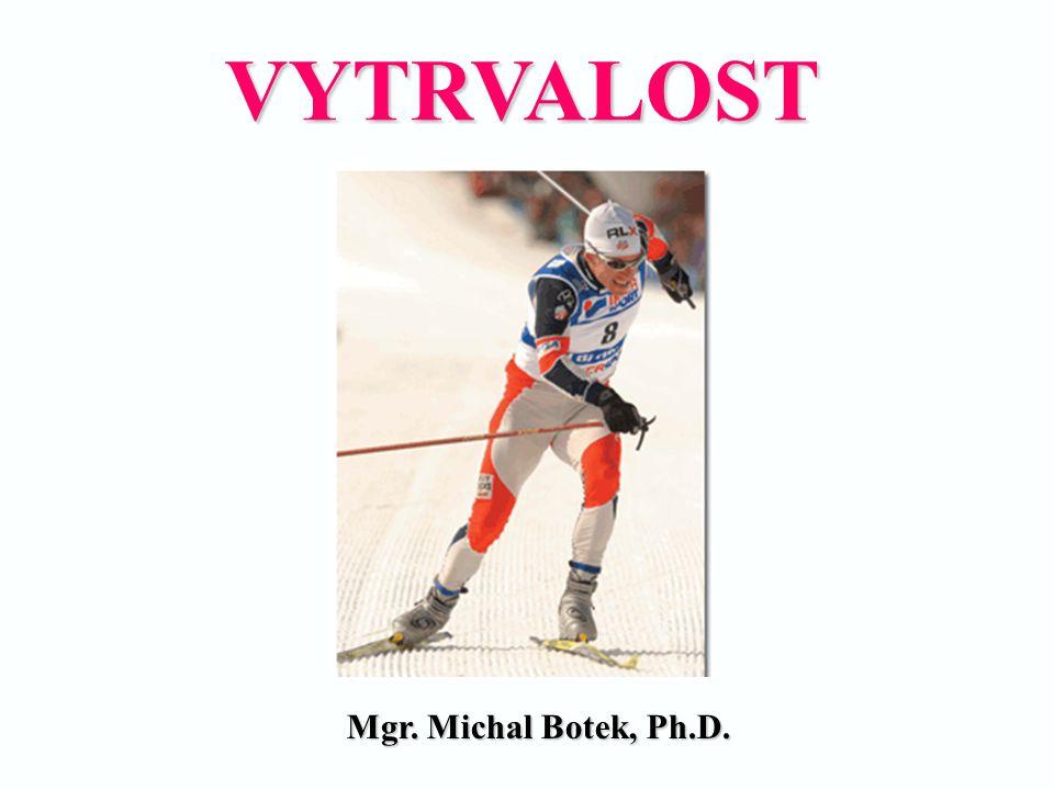 VYTRVALOST Mgr. Michal Botek, Ph.D. Mgr. Michal Botek, Ph.D.